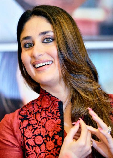 Kareena Kapoor Khan during a promotional event for her