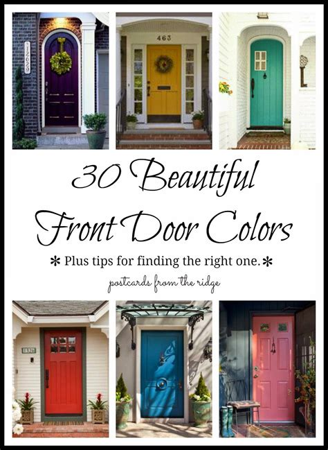 what color should i paint my front door 30 front door colors with tips for choosing the right one