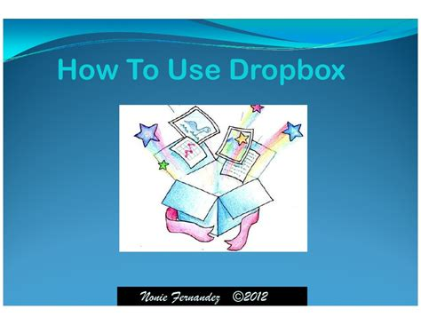 dropbox how to use how to use dropbox pdf