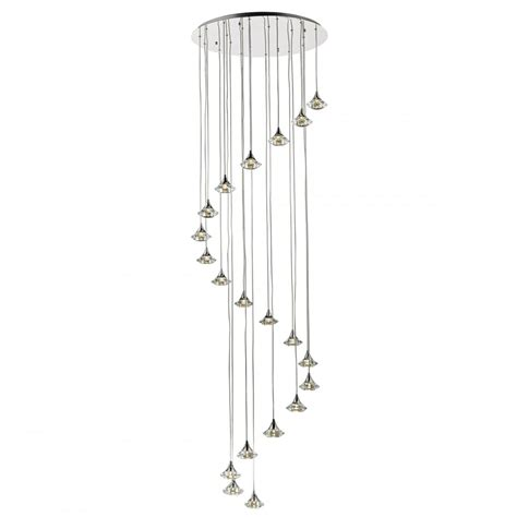 Lighting For High Ceilings a statement long drop stairwell light fitting modern