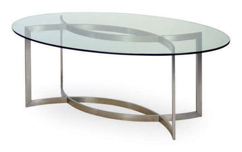 M S Dining Table A Chromed Metal And Glass Oval Dining Table Designed By Paul Legeard For Maison D O M Circa