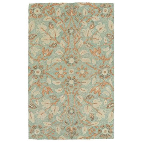 Turquoise Outdoor Rugs Shop Kaleen Weathered Turquoise Rectangular Indoor Outdoor Handcrafted Distressed Area Rug