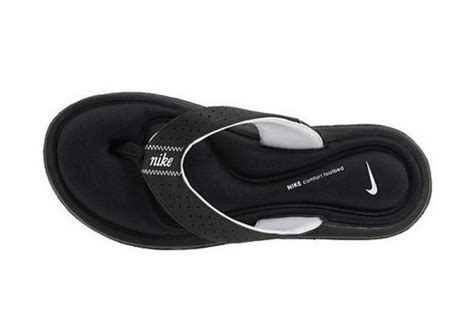 nike memory foam slippers nike comfort flip flop black sandals shoes