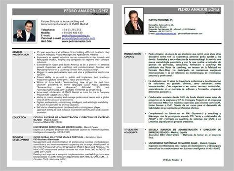 Modelo Curriculum Vitae Clasico Cv Ejemplo Curr 237 Culum Cl 225 Sico Pulse Para Ver En Grande Algo Diferente Al Coaching