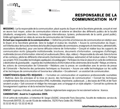 Exemple De Lettre De Motivation Université Licence Lettre De Motivation Universit 233 Licence Employment Application