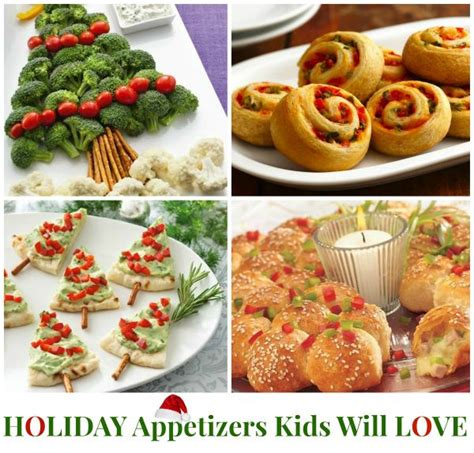 christmas appetizers kids holiday appetizers ideas yummy pinterest