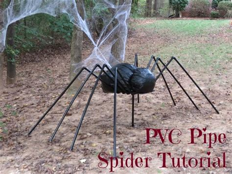 How To Make A Large Spider Decoration by Diy Outdoor Decoration Ideas The Creek Line House