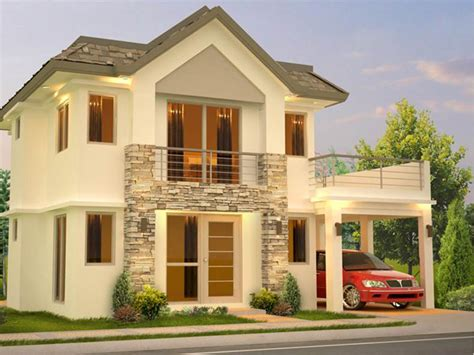 2 story home designs small 2 story modern house plans