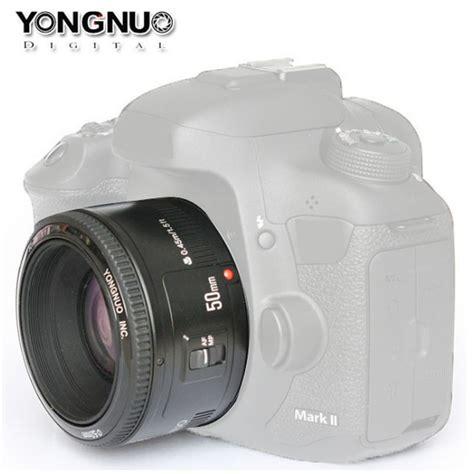 Lensa Yongnuo Yn 50mm F1 8 For Canon yongnuo yn 50mm f1 8 large aperture auto focus lens for
