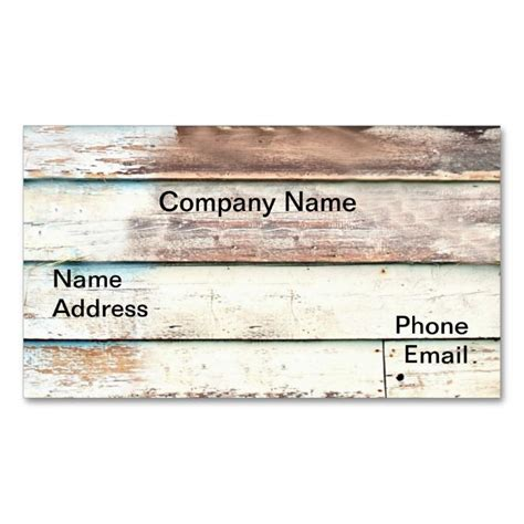 2192 Best Rustic Business Card Templates Images On Pinterest Business Card Design Templates Rustic Business Card Template Free