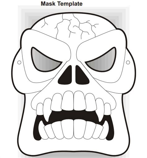 printable scary mask templates 19 scary masks free vector ai eps pdf format download