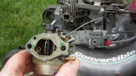 honda hrxhxa carb adjustment  cars modified dur  flex