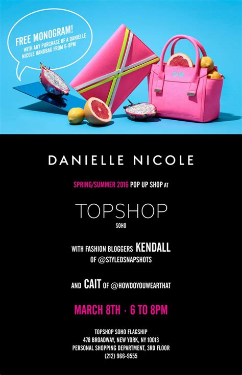 Topshop Launches New Website by Danielle Pop Up Shop At Topshop New York Launch