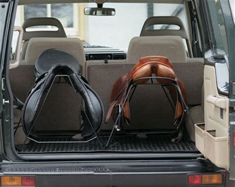 Saddle Rack For Car by Saddle Racks For The Back Of The Car Great Idea Www