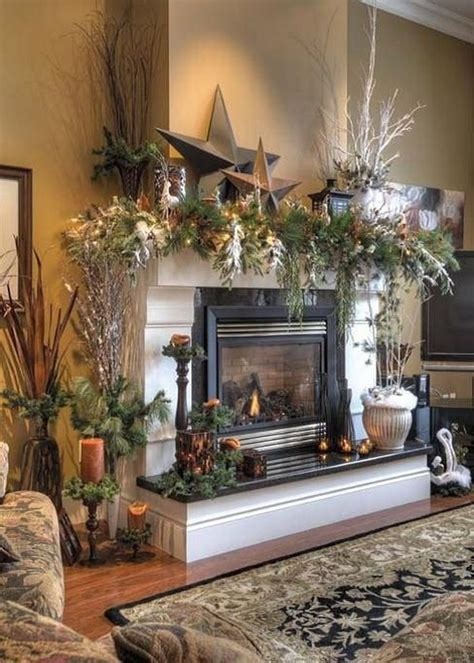 nice Fireplace Mantel Decor Ideas #1: 16-christmas-mantel-decorating-ideas.jpg