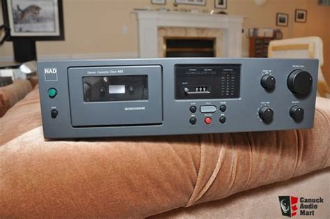 nad cassette deck nad 602 cassette deck photo 357526 canuck audio mart