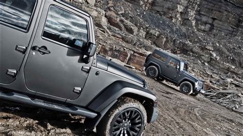 Matte Grey Jeep Wrangler By Kahn Design