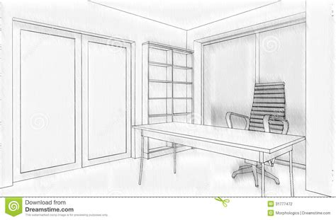 office building sketch stock photography image 31777472