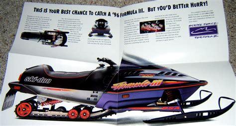 Image Gallery 1996 Ski Doo Formula 3