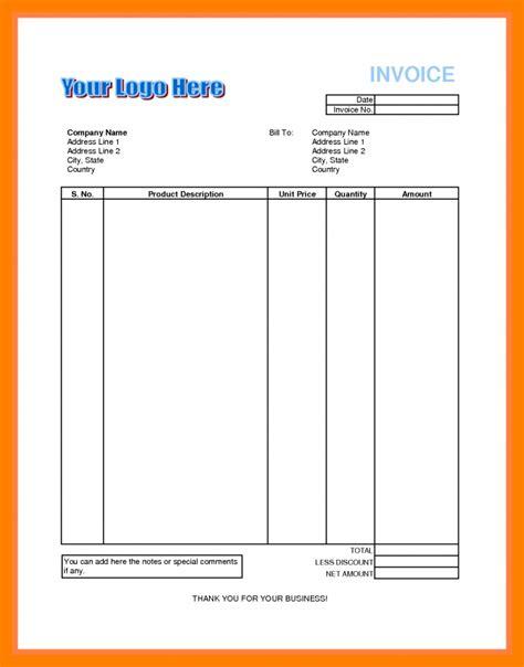 Resume Sample Biodata by 8 Invoice Bill Format In Excel Emt Resume