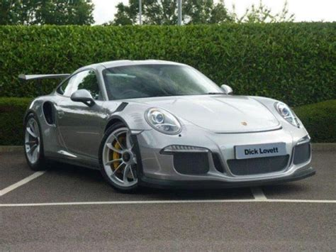 porsche gt3 price list silver porsche 991 gt3 rs listed for 450 000 dpccars