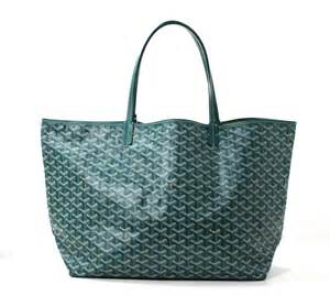 goyard tote colors goyard st louis gm tote in vert green color at 1stdibs