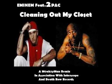 Eminem Coming Out The Closet by Eminem Cleaning Out Closet Feat 2pac 2011 Remix