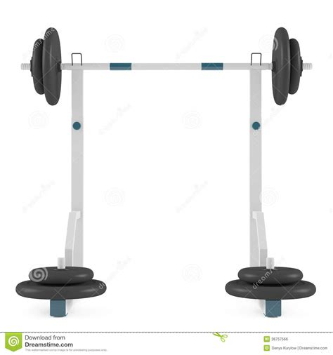 white weight bench weight bench isolated royalty free stock image image 36757566