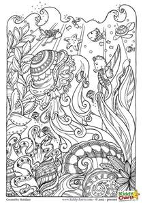 ocean coloring pages for kids and adults