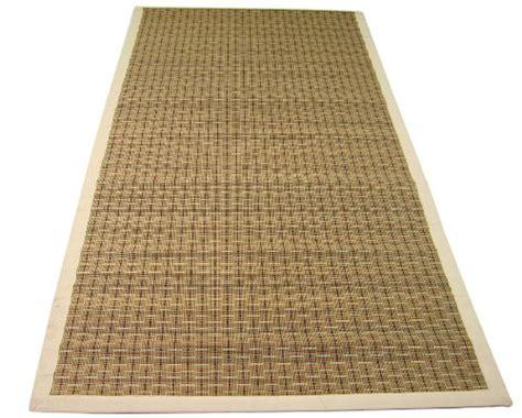 tappeti di cotone per salotto tappeto in bamb 249 e cotone 180x240 cm per interno casa