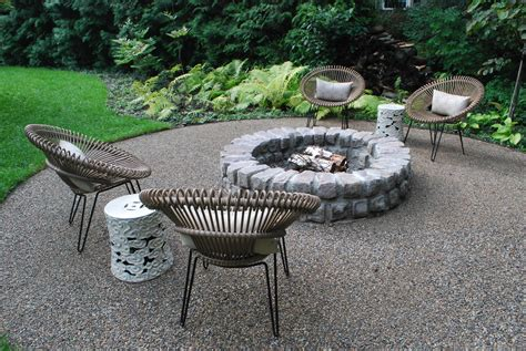 decorative stones for backyard boxed in dirt simple