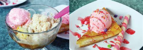 cara membuat usaha es krim goreng this is it paduan panas dingin es krim goreng kriuk