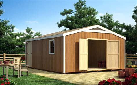 16 By 16 Shed project plan 90056 16 x 16 gable shed