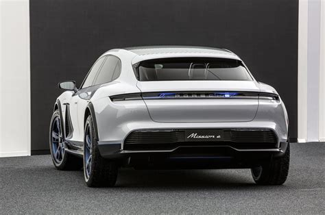 porsche mission e charging the porsche mission e cross turismo is a fast charging