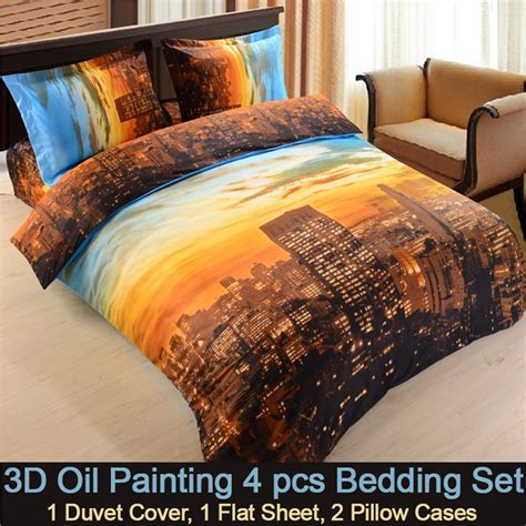 3d new york city bedding set ebeddingsets