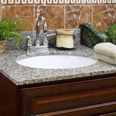 Spread Countertop by 61 In Granite Vanity Tops With 2 Sinks 4 In Spread Burlywood Up Only Ebay