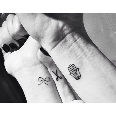 small hamsa tattoos small tattoos istanbul gatetattoo bow scissor