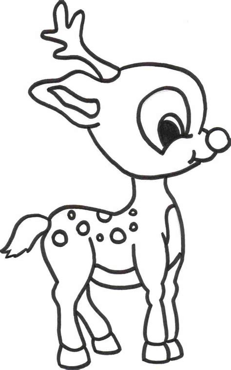 deer face coloring pages realistic cartoon reindeer face how to draw a christmas