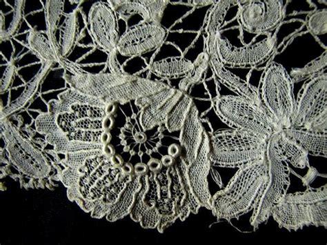 Handmade Belgian Lace - antique lace 53 handmade vintage belgian lace trim
