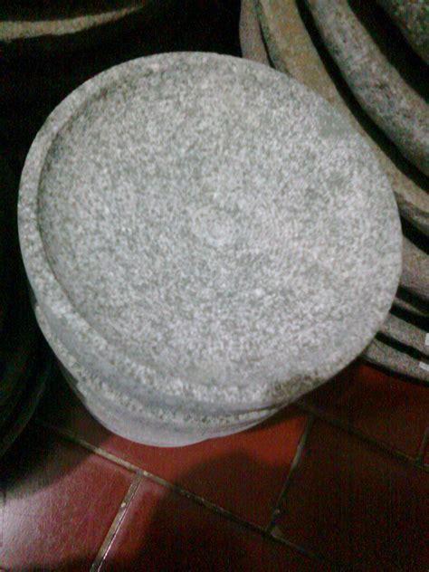 penghalus bumbu manual cobek batu l alat masak tradisional l alat masak murah l