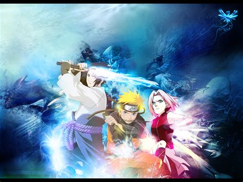 themes naruto 3d naruto shippuden wallpaper collection wall 3 anything