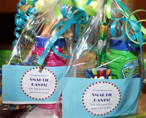 Gifts For From - easy to make inexpensive kindergarten graduation or end