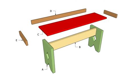 build a simple bench simple bench plans myoutdoorplans free woodworking plans and projects diy shed