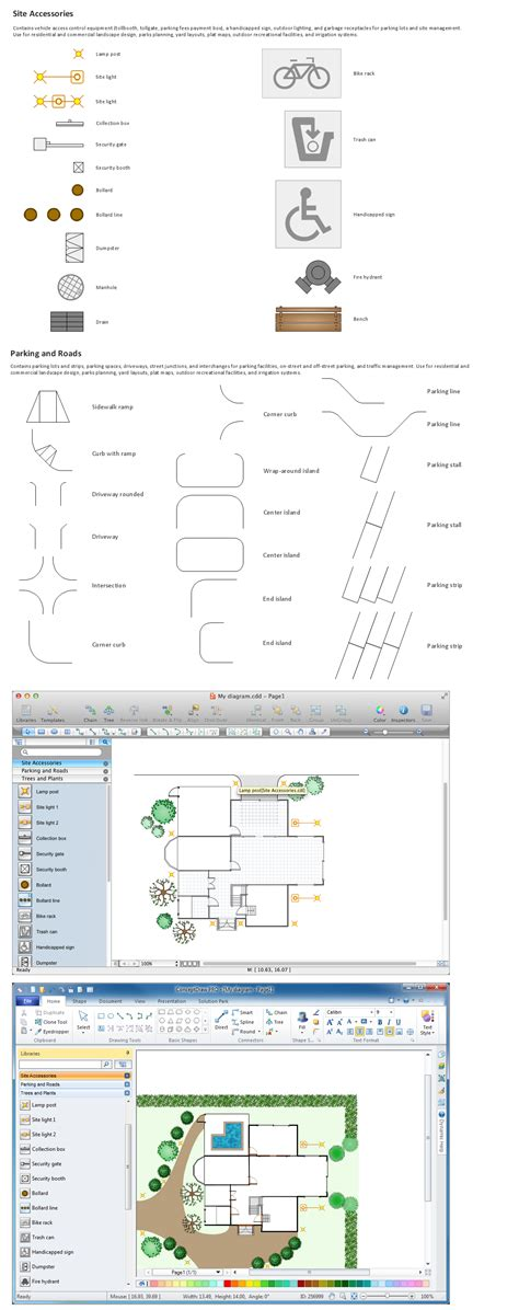 site plan software building drawing tools design element site plan