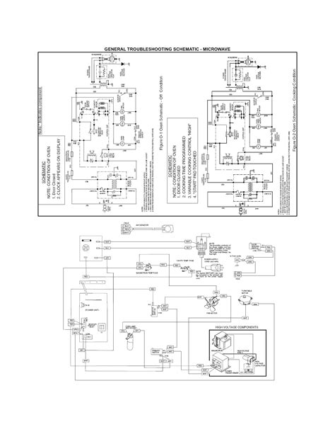 kenmore microwave wiring diagram circuit and schematics
