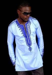 africa ware design men debonke house of fashion african clothing blue