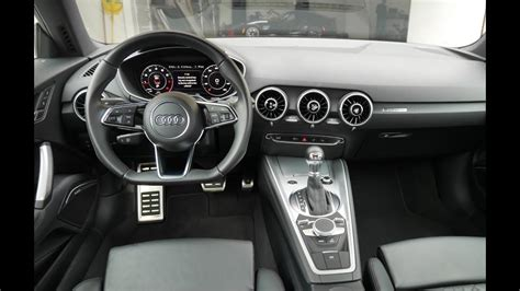 Audi Tt Interior by 2016 Audi Tt Interior Review With Virtual Cockpit Youtube