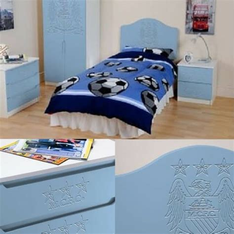 man city bedroom manchester city children s bedroom furniture set