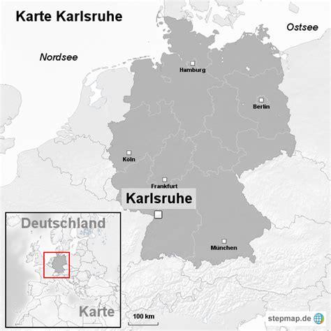 deutsches büro grüne karte adresse karte karlsruhe ortslagekarte landkarte f 252 r deutschland