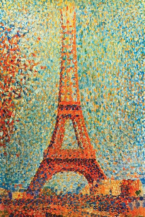 georges seurat most famous paintings the eiffel tower by georges seurat most popular art